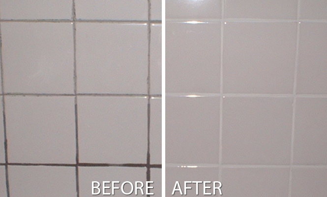 Grout Joint Cleaned